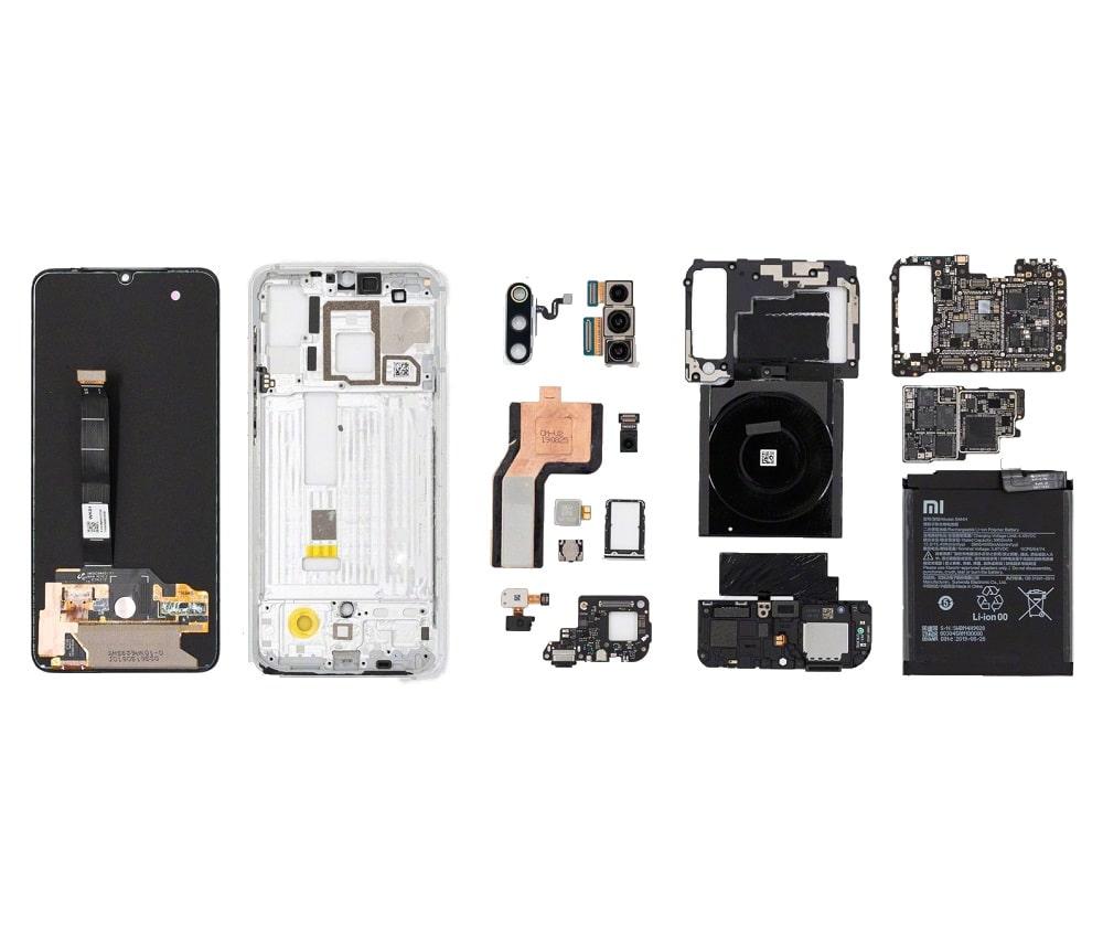Xiaomi kijelző csere folyamata