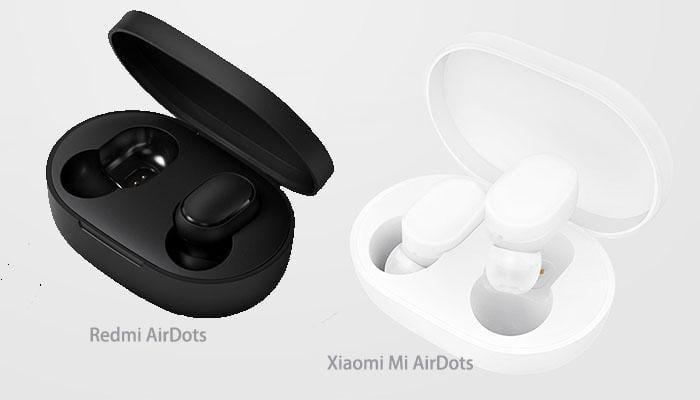Redmi AirDots VS Xiaomi AirDots