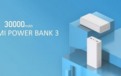 Bemutatkozott a 30000 mAh-s kapacitású Xiaomi Mi Power Bank 3 külső akkumulátor