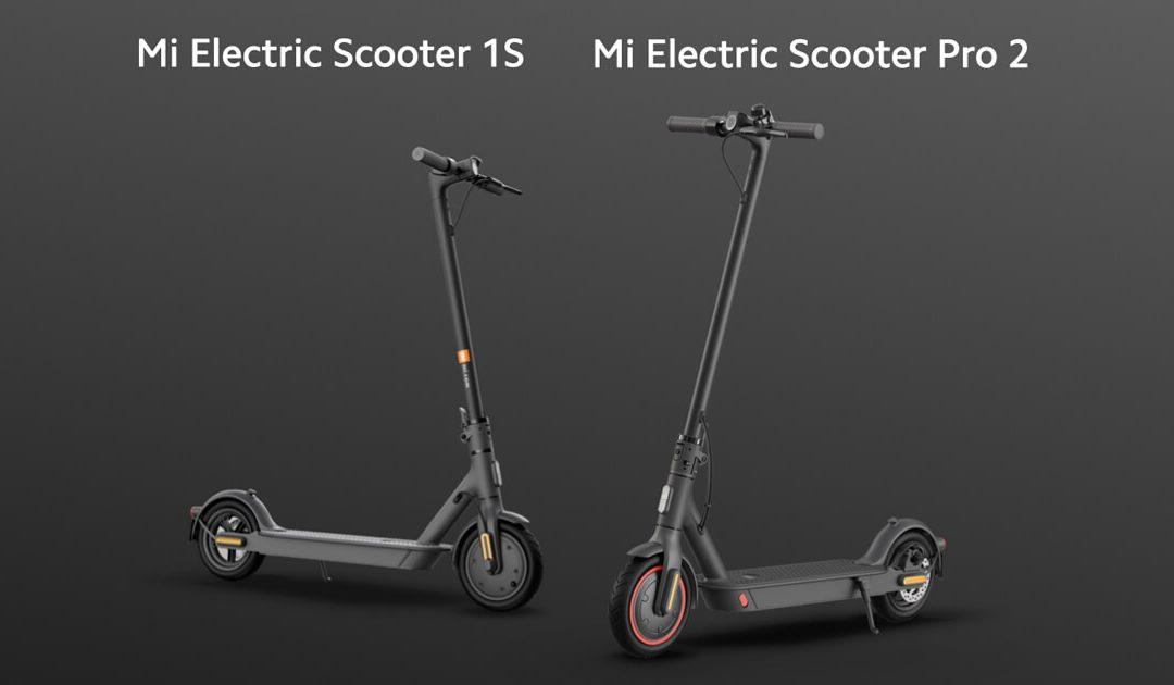 Mi Electric Scooter 1S és Pro 2 név alatt két új elektromos rollert is bemutatott a Xiaomi