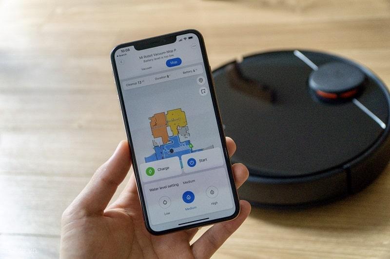 Frissítést kapott a Xiaomi Robot Vacuum Mop Pro, most már több térkép tárolására is képes